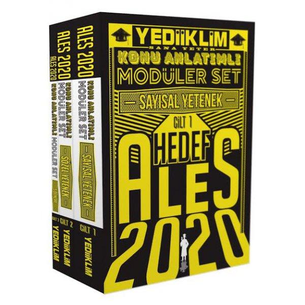 2020 ALES Sayısal Sözel Yetenek Konu Anlatımlı Modüler Set Yediiklim Yayınları
