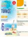6.Sınıf İpucu Yaprak Test Okyanus Yayınları