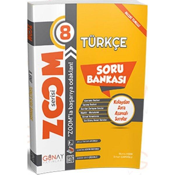 8. Sınıf Türkçe Zoom Soru Bankası Günay Yayınları