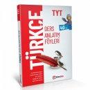 TYT Türkçe Ders Anlatım Föyleri Lider Plus Yayınları