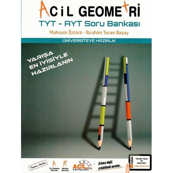 TYT AYT Acil Geometri Soru Bankası Acil Yayınları