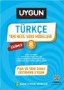 8. Sınıf Türkçe Yeni Nesil Soru Modelleri Sadık Uygun Yayınları