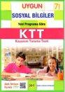 7.Sınıf Sosyal Bilgiler Kazanım Tarama Testi Sadık Uygun Yayınları