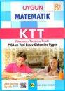 8. Sınıf Matematik Kazanım Tarama Testi Sadık Uygun Yayınları
