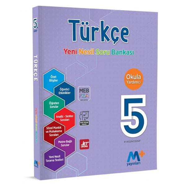 5. Sınıf Türkçe Yeni NesiL Soru Bankası Martı Okul M+ Yayınları