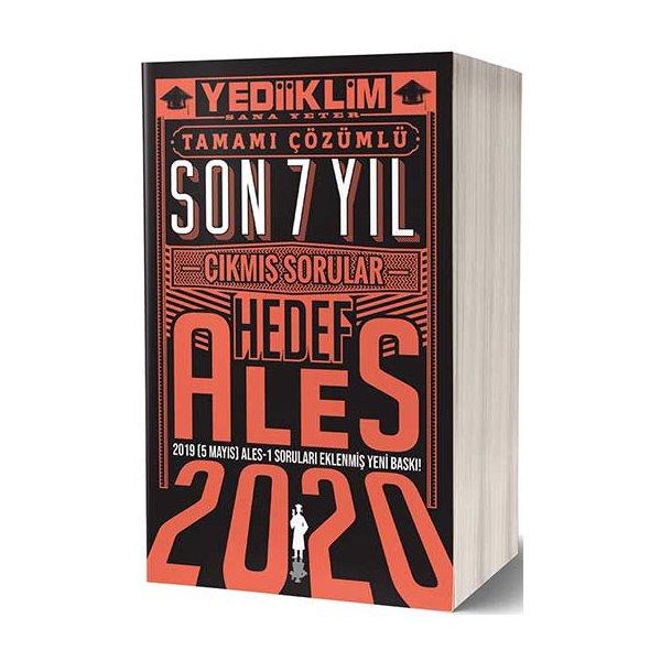 2020 ALES Sözel Sayısal Yetenek Tamamı Çözümlü Son 7 Yıl Çıkmış Sorular 5 Mayıs Ales-1 Ekli Yediiklim Yayınları
