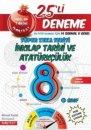 8.Sınıf Süper Zeka İnkılap Tarihi ve Atatürkçülük 25 li Deneme Nartest Yayınları