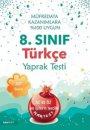 8. Sınıf Türkçe Yaprak Test Nartest Yayınları