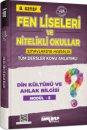 8. Sınıf Din Kültürü ve Ahlak Bilgisi Fen Liseleri ve Nitelikli Okullar Konu Anlatımlı Modül 5 Ankara Yayıncılık