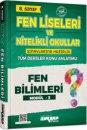 8. Sınıf Fen Bilimleri Fen Liseleri ve Nitelikli Okullar Konu Anlatımlı Modül 3 Ankara Yayıncılık