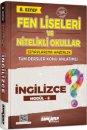 8. Sınıf İngilizce Fen Liseleri ve Nitelikli Okullar Konu Anlatımlı Modül 6 Ankara Yayıncılık