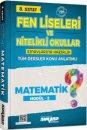 8. Sınıf Matematik Fen Liseleri ve Nitelikli Okullar Konu Anlatımlı Modül 2 Ankara Yayıncılık