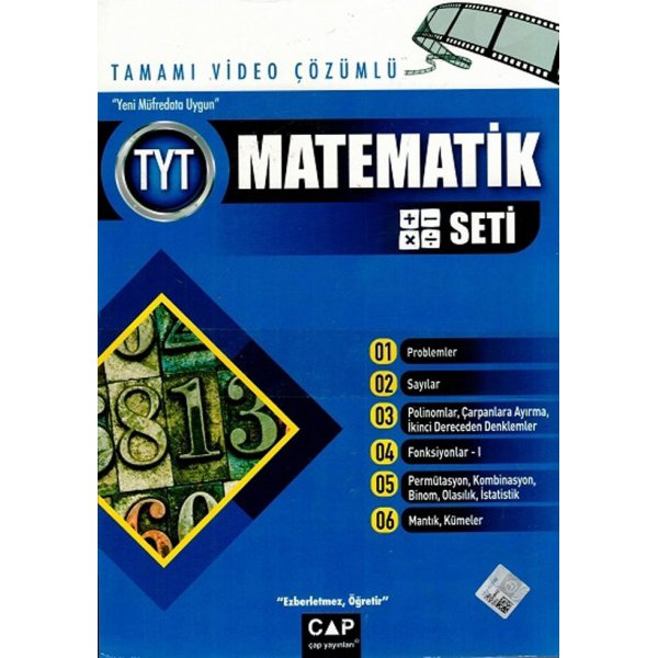 Çap  TYT Matematik Seti Tamamı Video Çözümlü