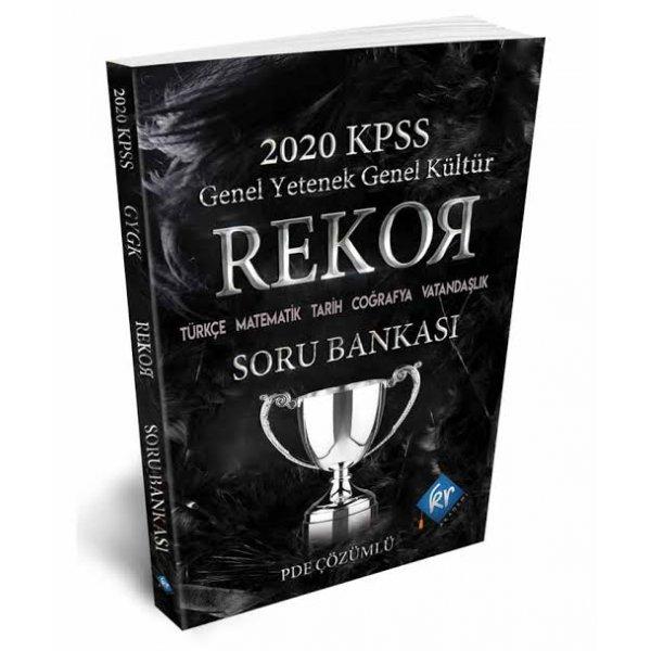 2020 KPSS Genel Yetenek Genel Kültür Tüm Dersler Rekor Soru Bankası Kr Akademi