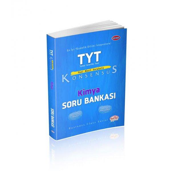 TYT Konsensüs Kimya Soru Bankası Editör Yayınları