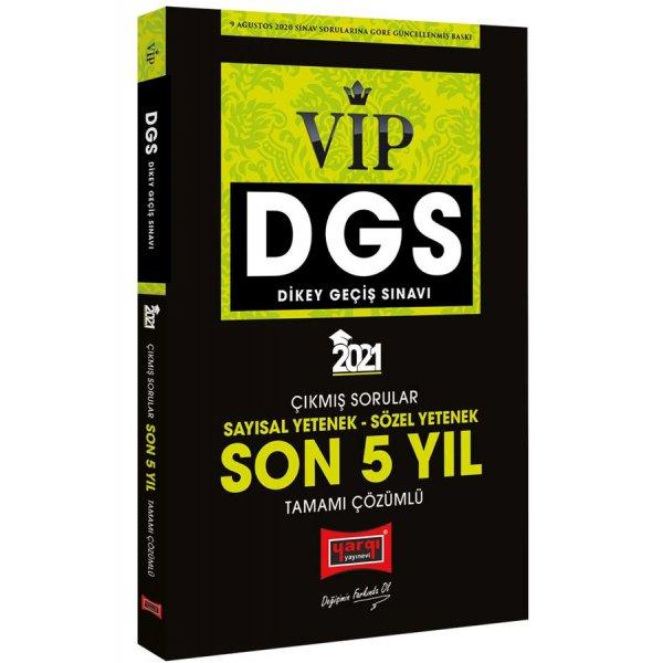 Yargı Yayınları 2021 DGS VIP Yeni Sınav Sistemine Göre Tamamı Çözümlü 5 Deneme