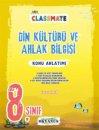 8. Sınıf LGS Classmate Din Kültürü ve Ahlak Bilgisi Konu Anlatımı Okyanus Yayınları