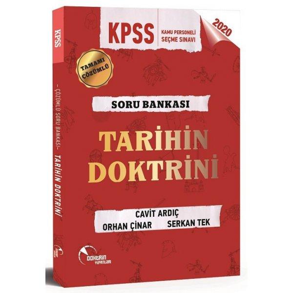 2020 KPSS Tarihin Doktrini Çözümlü Soru Bankası Cavit Ardıç Doktrin Yayınları