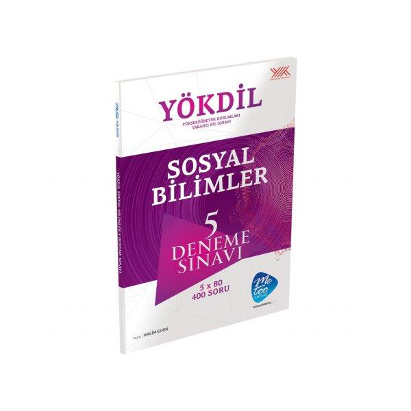 YÖKDİL Sosyal Bilimleri 5 Deneme Sınavı Me Too Yayınları