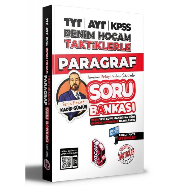 2022 TYT-AYT-KPSS Taktiklerle Paragraf Soru Kadir Gümüş Benim Hocam Yayınları