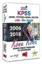 2020 Lise-Ön Lisans KPSS GY-GK Konu Konu 2006-2018 Çıkmış Sınav Soruları ve Çözümleri Yargı Yayınları