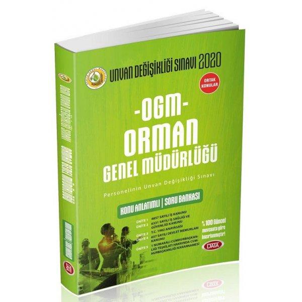 2020 GYS OGM Orman Genel Müdürlüğü Konu Anlatımlı Soru Bankası Unvan Değişikliği Ortak Konular Data Yayınları