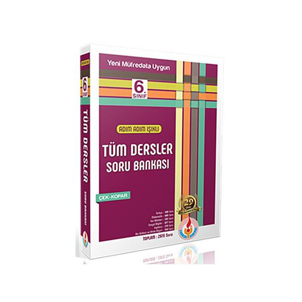 6. Sınıf Tüm Dersler Soru Bankası Bilal Işıklı Yayınları