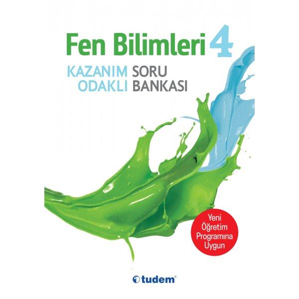 Tudem Yayınları 4. Sınıf Fen Bilimleri Kazanım Odaklı Soru Bankası