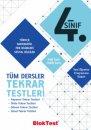 4. Sınıf Tüm Dersler Tekrar Testleri Bloktest Yayınları