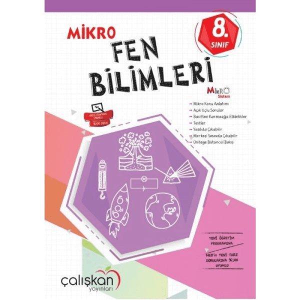 Çalışkan 8. Sınıf Fen Bilimleri Mikro Defter