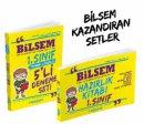 Zeki Çocuk 1. Sınıf Bilsem Hazırlık Kitabı + 5 Li Deneme Çözümlü 2 li Set Zeki Çocuk Yayınları
