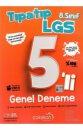 Çalışkan 8. Sınıf LGS Tıpatıp 5'li Genel Deneme