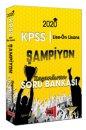 2020 Lise-Ön Lisans KPSS GY-GK Şampiyon Kazandıran Soru Bankası Yargı Yayınları