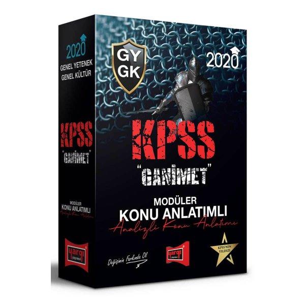 2020 KPSS Genel Yetenek Genel Kültür GANİMET Konu Anlatımlı Modüler Set Yargı Yayınları