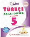 5. Sınıf Türkçe Akıllı Defter Palme Yayınları