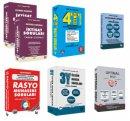 KPSS A Grubu Tüm Dersler Özgün Soru Bankaları 6 lı Set-1 4T Yayınları