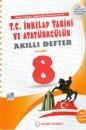 8. Sınıf T.C. İnkılap Tarihi ve Atatürkçülük Akıllı Defter Palme Yayınevi