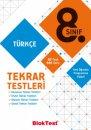 8. Sınıf Türkçe Tekrar Testleri Bloktest Yayınları
