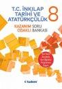 8. Sınıf T.C. İnkılap Tarihi ve Atatürkçülük Kazanım Odaklı Soru Bankası Tudem Yayınları