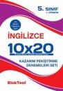 5. Sınıf İngilizce 10x20 Deneme 1.Dönem Blok Test Yayınları