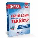 2020 Lise Ön Lisans KPSS  GY GK Konu Anlatımlı Tek Kitap Lider Yayınları