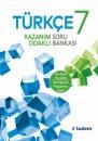 7. Sınıf Türkçe Kazanım Odaklı Soru Bankası Tudem Yayınları