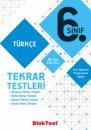 6.Sınıf Türkçe Tekrar Testleri Bloktest Yayınları