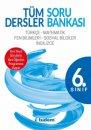 6. Sınıf Tüm Dersler Kazanım Odaklı Soru Bankası Tudem Yayınları