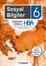 6.Sınıf Sosyal Bilgiler Kazanım Odaklı HBA Tudem Yayınları