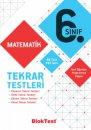 6.Sınıf Matematik Tekrar Testleri Bloktest Yayınları