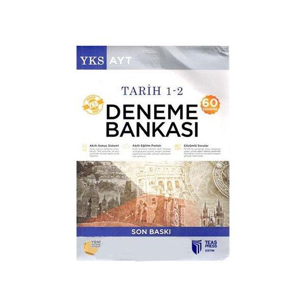 AYT Tarih 1 2 60 Deneme Bankası Teas Press Yayınları