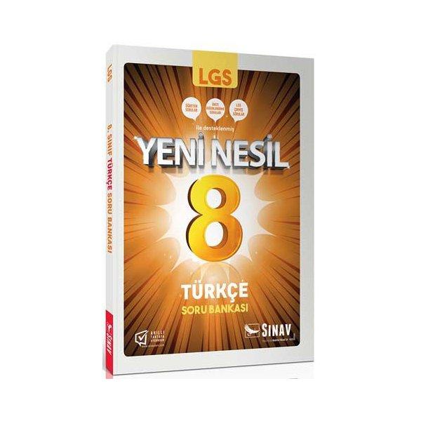 8. Sınıf LGS Türkçe Soru Bankası Sınav Yayınları