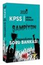 2020 KPSS Eğitim Bilimleri ŞAMPİYON Kazandıran Soru Bankası Yargı Yayınları