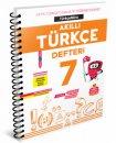7. Sınıf Akıllı Türkçe Defteri Türkçemino Arı Yayınları